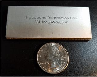 Broadband Surface Mount (SMT) 8-Way RF Splitter/Combiner