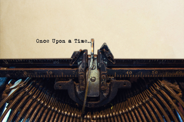 Once Upon A Time Typewriter