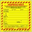 Hazardous Waste Label Printing