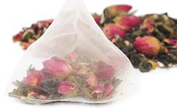 The Tea Spots Pyramid Sachets Make Premium Whole Leaf