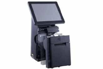 Posiflex HS3510 Compact Touch Screen Maximizes POS Counter Space
