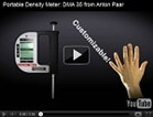 Portable Density Meter: DMA 35 from Anton Paar