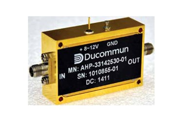 26.5 to 40 GHz Ka-band Power Amplifier: Model AHP-33142530-01