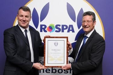 CIS - President's Award - RoSPA 2019