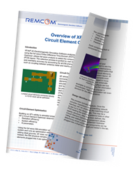White Paper: Overview of XFdtd's Circuit Element Optimizer