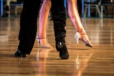 dancing feet ballroom