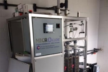 Conversion To On-Site Sodium Hypochlorite Generation Improves The Safety And Resilience Of Two Wastewater Re-Use Plants With A Three Year Economic Payback