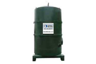 Carbon Filter System, 2,000 lbs
