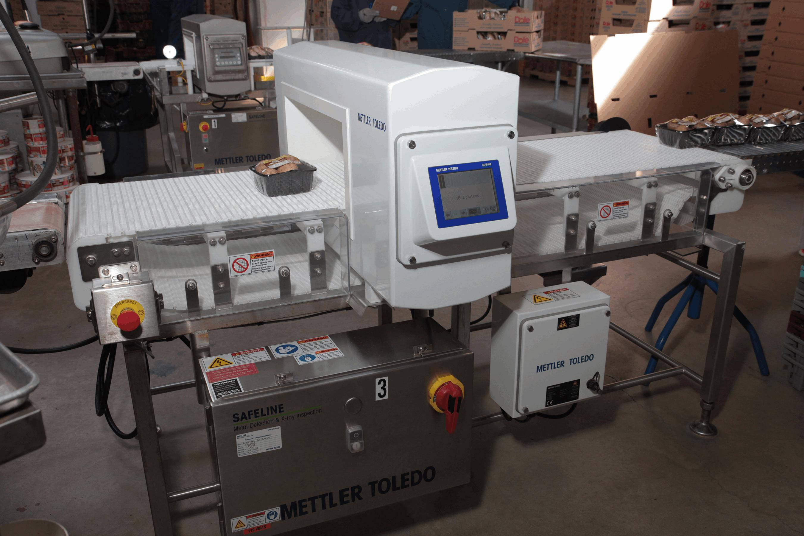 Mushroom manufacturer installs metal detection for product for Window manufacturers tampa