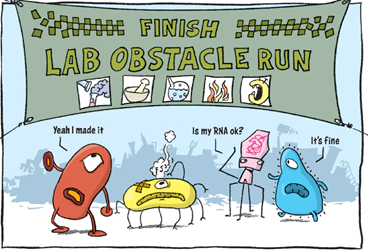 Lab Obstacle Run