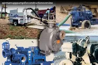 PumpsForConsctuction