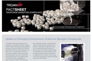 Endocrine Disruptor Compounds - Emerging Contaminants (Fact Sheet)