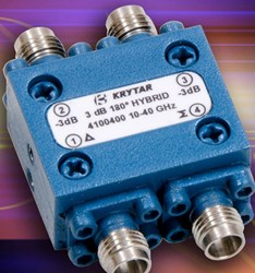 10-40 GHz 3 dB Hybrid Coupler: Model 4100400