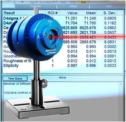 Ophir® NanoScan™ Scanning Slit Laser Beam Profiler