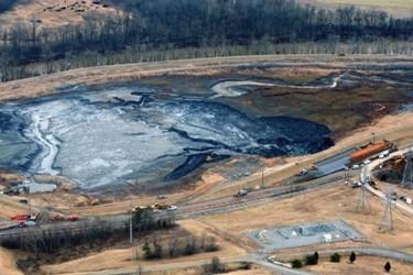 coal ash spill on the Dan River