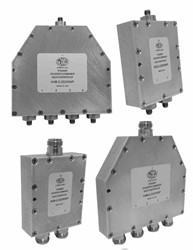 Weatherproof Power Combiners For Public Safety Applications