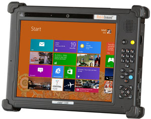 Xtablet T1200 Windows 8 Fully Rugged Tablet Pc