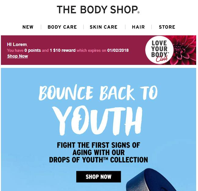 The Body Shop Email Image 1