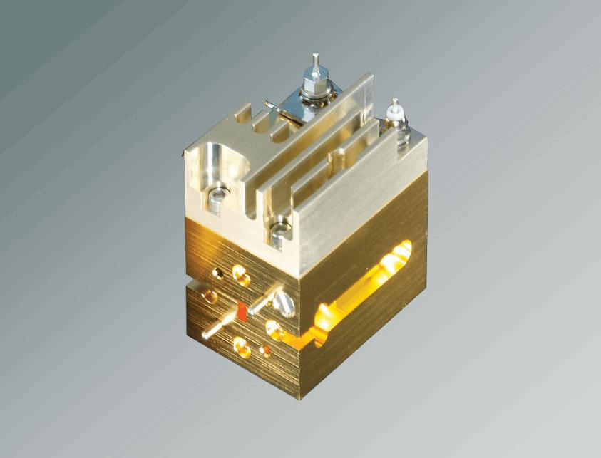 Gan Power Amplifiers Deliver 25 W Of Power At E Band And W