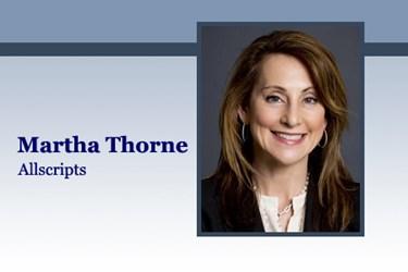 HITO Martha Thorne, Allscripts