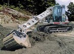 GRADALL'S NEW XL 3200 HYDRAULIC EXCAVATOR COMBINES EXCELLENT VERSATILITY WITH RUGGED, STABLE UNDERCARRAIGE