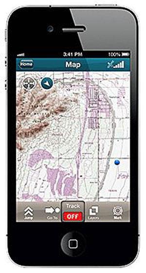 Trimble Adds Smartphone App To MyTopo Terrain Navigator Pro