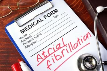 AFib Atrial Heart Stroke