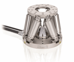 Miniature Hexapod 6-Axis Positioner With Dynamic, Vacuum, High Resolution Options: H-811v