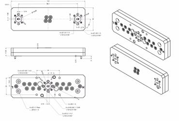 V-band And E-band Microwave Diplexer Series