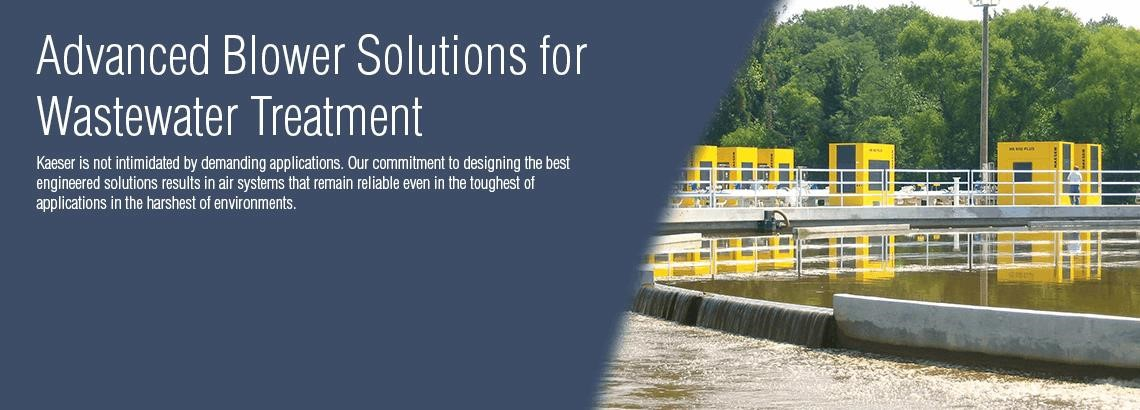 Kaeser Compressors Air System Solutions For Wastewater Treatment Plants Brochure