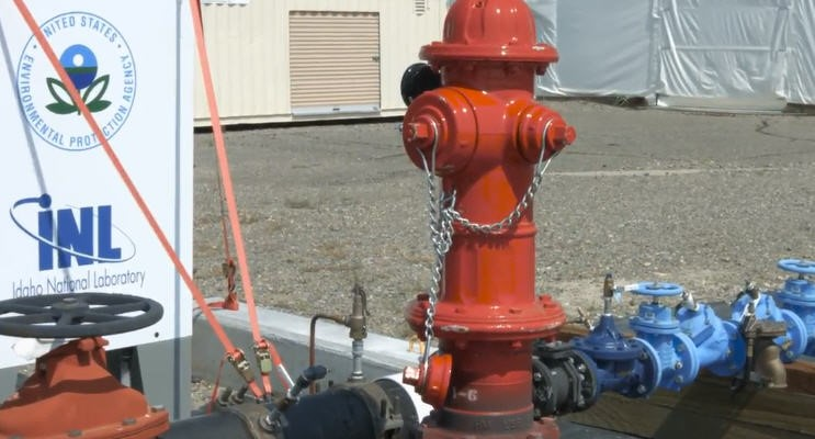 Onshore Crude Oil Decontamination Using A Water Security Test Bed