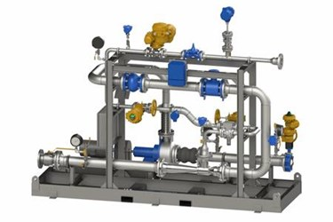 Ozone Injection Skid