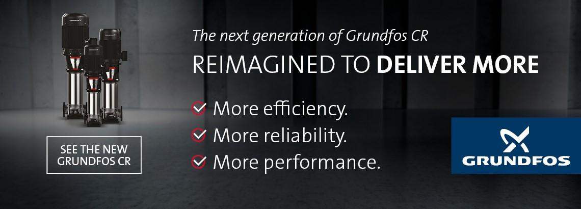 Expanded Range of Grundfos CRs