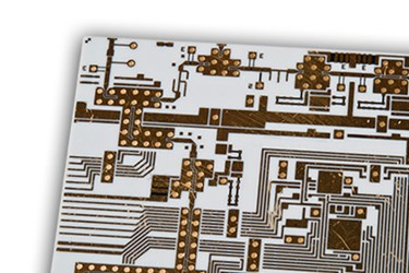 Copper Filled Vias for Thin Film Boards