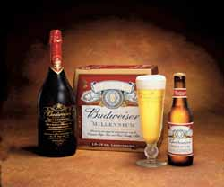 Budweiser Toasts Millenium with Special Package Graphics ...