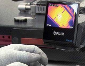 FLIR ETS320 Speeds Up Repair Work At ISOMEDIA