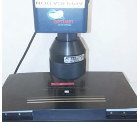 Laser Engraving Resolution Chart