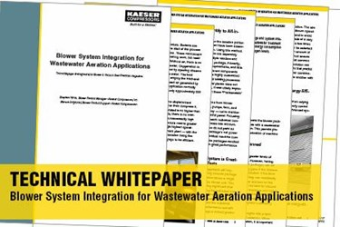 Blower System Integration for Wastewater Aeration Applications