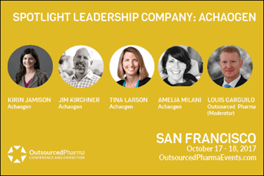 Outsourced Pharma San Francisco 2017 Agenda Update