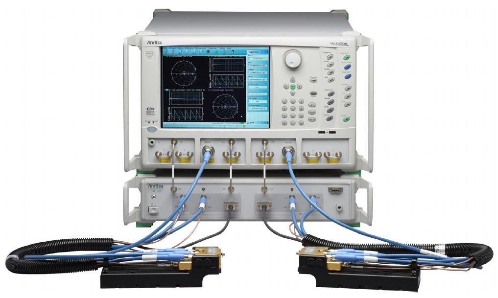 Network Analyzer Testing Radar Gun : Broadband vector network analyzer for on wafer device