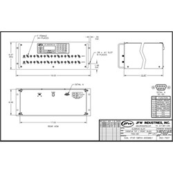 75 Ohm RF Switch Assembly: 75SA-081