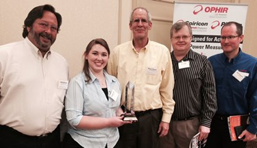 Ophir-Spiricon Receives Utah Innovation Award for BeamWatch