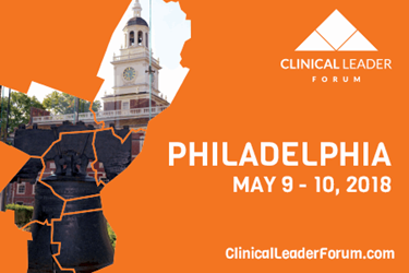 Life Science Leader And Clinical Leader Announce Clinical Leader Forum Date For 2018