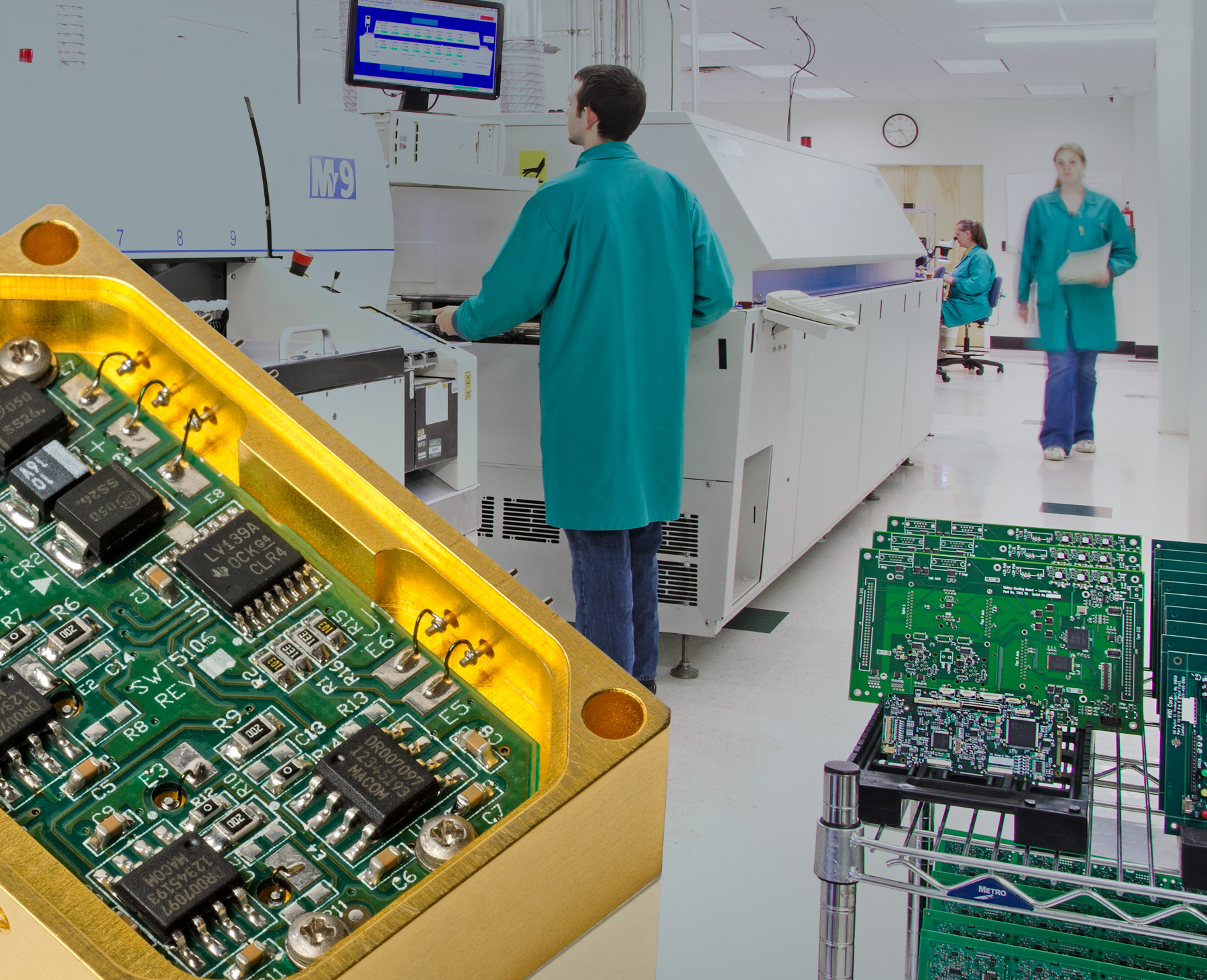 Automated Pcb Assembly Outsource Handles Vgas And More