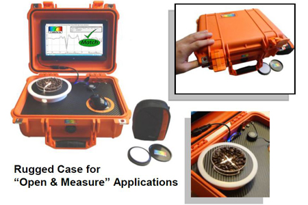 Portable Nir Spectrometer For Material Id And Composition