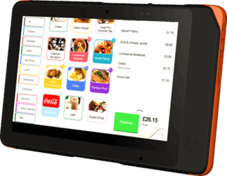 """10"""" Mobile Point Of Sale System"""