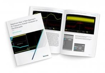 Spectrum View: A New Approach To Frequency Domain Analysis On Oscilloscopes