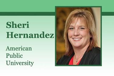 Sheri Hernandez, Program Director, Hospitality Management at American Public University