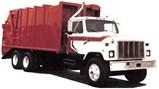 Severe Service Rear Loading Refuse Truck