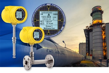 Power Plant Converts To Combined Cycle Operation With The Help Of Thermal Mass Air / Gas Flow Meter